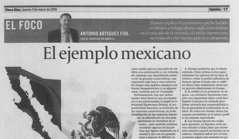 El ejemplo mexicano